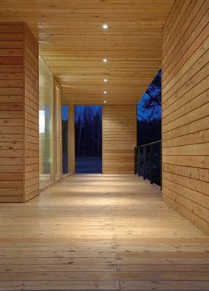 Showing the versatility in Wood Construction