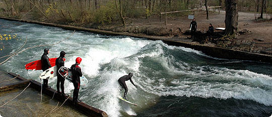 Standing Wave (One Type of Hydraulic Jump)